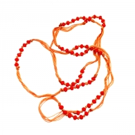 COLLIER PIKI ORANGE